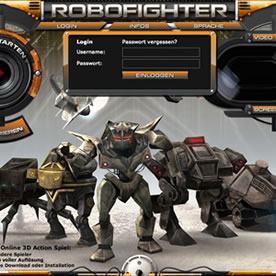 Robofighter Screenshot 1